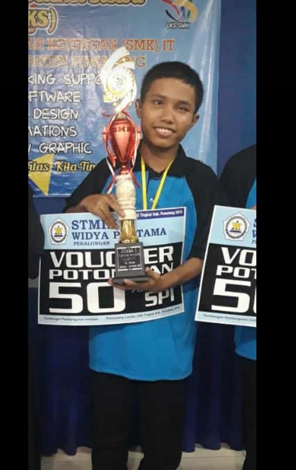 Juara 1 LKS Tingkat Kabupaten Pemalang Tahun 2019/2020